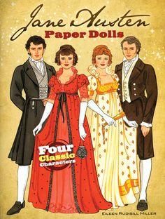 Jane Austen Paper Dolls