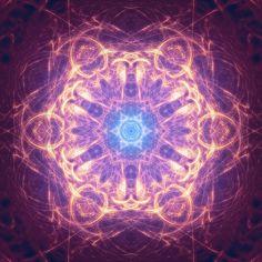 Blue Star Mandala by SteveAllred.deviantart.com on @deviantART