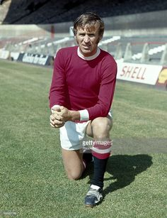 Pat Crerand of Manchester United at Old Trafford Manchester in August 1970