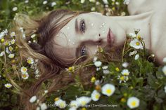 Spring Time by Marta Bevacqua Christina Ricci, Photography Women, Creative Photography, Forest Photography, Photography Ideas, Marta Bevacqua, Deep Books, Fantasy Book Series, Daisy Field