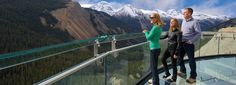 Glacier Skywalk | Brewster Travel Canada- Yup this is happening. First stop Banff then on to Jasper to check out this view!