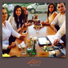 Gündoğdu şubemizden Mehtap hanıma paylaşımı için teşekkür ederiz. Doğum günü Alins'lisinin de doğum gününü kutlarız :)