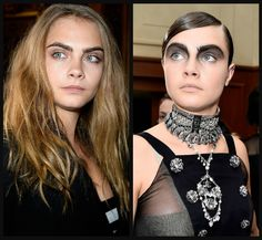 Chanel Somehow Found A Way To Make Cara Delevingne's Famous Eyebrows Even Thicker