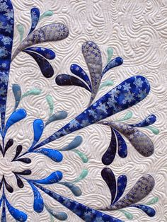 My latest applique quilt, Icy, is is the new issue of Australian Patchwork & Quilting magazine (Volume 24 Number 3) which should be availabl...