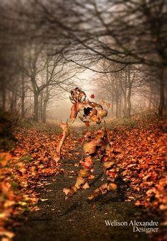 Espírito em folhas by Welison Alexandre, via 500px