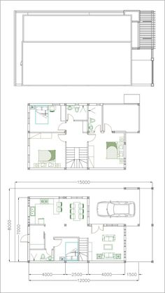 Home Design Drawing Home Design Plan with 4 Bedrooms Plot - Sam Phoas Home - Home Design Plan with 4 Bedrooms Plot This villa is modeling by SAM-ARCHITECT With 2 stories level. It's has 4 bedrooms. Home Design Plan Model House Plan, My House Plans, House Layout Plans, Duplex House Plans, House Layouts, 2 Storey House Design, Simple House Design, Bungalow House Design, Minimalist House Design