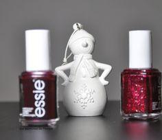 Essie // Christmas Nail Polish