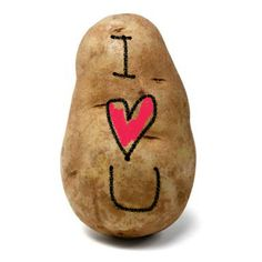 Share your love in a potato message.