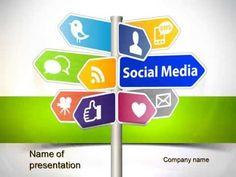 Social Media Signs PowerPoint Template - YouTube http://www.youtube.com/watch?v=IX8NwqBdTkk