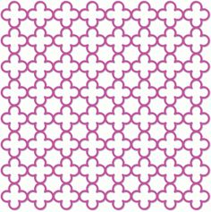 Silhouette Design Store - View Design #38869: quatrefoil screen