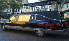 Hearse Ghost Tours tour hearse