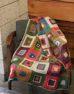 Ravelry: Granny Log Cabin Blanket pattern by Miriam L. Felton - crochet & knit!