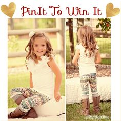 !!!WINNER IS CANDICE PAIGE!!! Giveaway!! For a chance to win our BEST SELLING 'Sweet Candy' Leggings >>>>>>>>> 1. Follow and 2. Repin this photo with #RyleighRue. Good Luck!!!