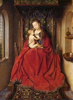A perfect Empress  Jan van Eyck | Madonna and Child, 1437
