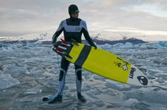 VIDEO: Ian Battrick wearing Lunasurf wetsuits surfing and camping out around Iceland.