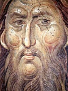 Looks like the face if St John the Baptist