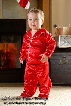 Boys girls Christmas pajamas kids pyjamas jumpsuit toddler ...