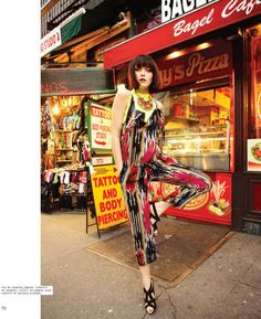 Nylon Mexico St Mark s Place - The Nylon Mexico 'St. Mark's Place' editorial showcases some very vibrant urban fashion. Shot on location in Manhattan, New York,...