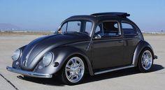 1957 VW Beetle Sunroof Show Car For Sale @ Oldbug.com