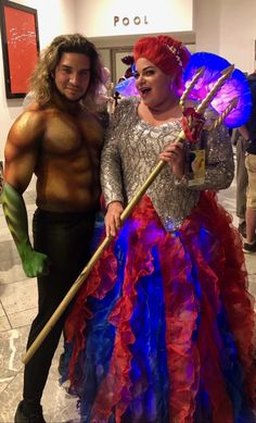 Cosplay of Mera and Aquaman movie). Costume of Mera's Royal Gown Jellyfish dress by Amped Atelier. Foam jellyfish with led lighting. Aquaman 2018, Female Superhero, 2018 Movies, Jellyfish, Atlantis, Cosplay, Gowns, Costumes, Led