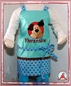 Fran made this gorgeous apron using a design from Circle of Friends Too.