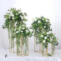 Church Wedding Flowers, Church Wedding Decorations, Wedding Table Centerpieces, Graduation Centerpiece, Quinceanera Centerpieces, Tall Centerpiece, Simple Centerpieces, Wedding Candelabra, White Flower Centerpieces
