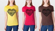 Vegan womans shirt - Vegan heart, vegan clothing, vegan apparel, vegan shirt, pawprint shirt