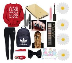 """""""Made by bæ"""" by kaylan-grier-7 ❤ liked on Polyvore featuring Goldgenie, Vans, adidas, Accessorize, Natasha Accessories, Marc Jacobs, NYX, MAKE UP STORE and Forever 21"""