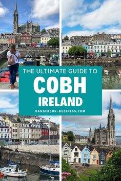 The ultimate guide to visiting Cobh, Ireland, including what to do and where to stay. Don't skip picturesque Cobh when traveling through Cork, Ireland. The colourful seaside port has loads of fun history, art and the most beautiful houses! perfect for photography travel!   #Ireland #travel #traveltheworld Ireland Vacation, Ireland Travel, Bella Vista Hotel, Cool Places To Visit, Great Places, Europe Travel Guide, Travel Guides, Cobh Ireland, Best Of Ireland