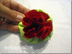 flor de fuxico - PAP