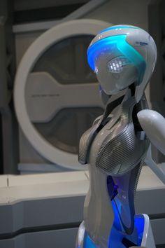 Phonika Advanced Humanoid (android, robot) concept model