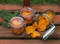 MENTŐÖTLET - kreáció, újrahasznosítás: Sütőtök chips