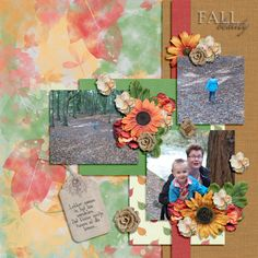 Kit: Snips & Snails Designs - Fall Beauty Template: Southern Serenity Designs by Amber Morrison - Weeping Willow TP3