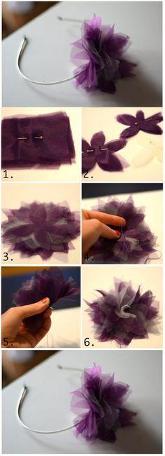 Diy Beautiful Hair Clip | DIY  Crafts | SPA Event Sunday March 9 2014 in Oakville www.shopandpamperaffair.blogspot.ca