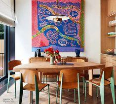 Luxury Dining Room, Dining Room Design, Greenwich Village, Interior Design Inspiration, Room Inspiration, Design Ideas, Rooms Ideas, Esstisch Design, Architecture Restaurant