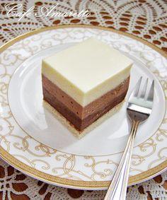 Sernik potrójnie czekoladowy @cafeamaretto
