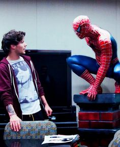 Tommo and Spiderman. Who's better? Hm, I think I can choose, what about you? :)