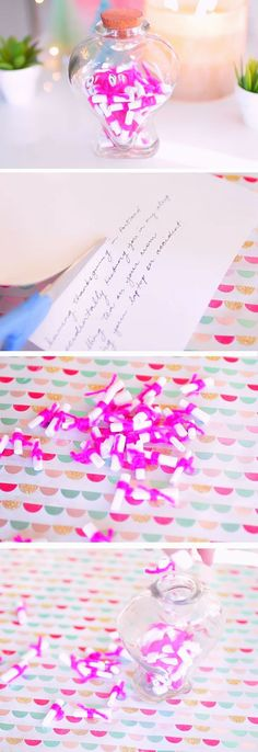 Memories Jar | Last Minute DIY Gifts for Boyfriend | Cute Valentines Day Ideas for Boyfriend