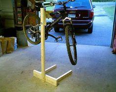 diy bike stand - Google Search