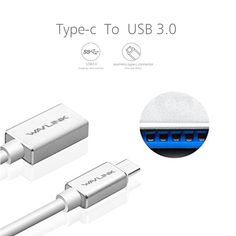 USB Type C Cable Mini Smart USB 3.1 Type C Male to USB 3.0 Type A Female OTG Data Connector Cable Adapter Superspeed Wavlink  #Affiliate