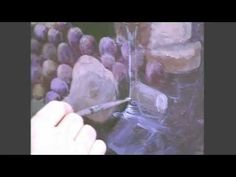 Painting glass with Jerry Yarnell - YouTube