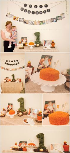 First Birthday: Jonah's Pumpkin Patch (decor) ~ Behind the Camera and Dreaming