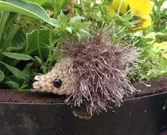 Little Crochet Hedgehog  amigurumi by meddywv on Etsy, $8.75