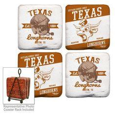 Longhorn Fashions - University of Texas Coasters, $24.00 (http://www.longhornfashions.com/university-of-texas-coasters/)