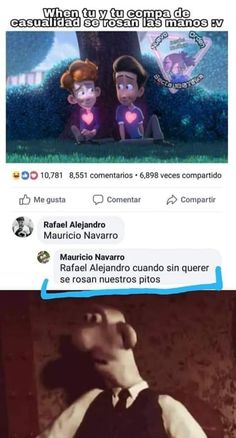 """)"""" sobre """"In a heartbeat"""" All The Things Meme, Random Things, Lgbt Memes, Pinterest Memes, Fujoshi, Haha Funny, Karate, In A Heartbeat, Funny Images"""