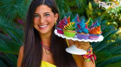 FullyRaw Vegan Rainbow Unicorn Cupcakes for my Birthday! These raw vegan cupcakes are fun, easy, and delicious, and I am sharing these with you in honor of m...