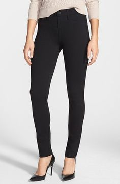 NYDJ+Ponte+Skinny+Pants+(Petite)+available+at+#Nordstrom