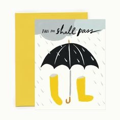 Sending dry hugs to our friends up the eastern coast, especially Jacksonville, FL who seems to be getting what was our share (and then some) of the brunt of the storm. This Too Shall Pass, Blue Rain, Typography, Lettering, Sweet Notes, First Love, Encouragement, Stationery, Greeting Cards