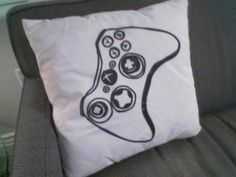 Xbox cushion for the basement hangout spot