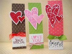Cute Valentine Book marks mia Casa